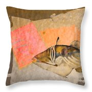 Tropical Dream Number 2 Throw Pillow by Carol Leigh