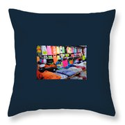 T's  Throw Pillow by Skip Willits
