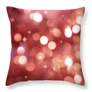 Twinkle Little Stars Throw Pillow by Sandra Cunningham