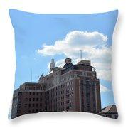 Uab Hillman Throw Pillow by Maria Urso