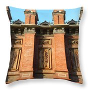 Uc Berkeley . South Hall . Oldest Building At Uc Berkeley . Built 1873 . 7d10109 Throw Pillow by Wingsdomain Art and Photography