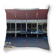 UC Berkeley . Zellerbach Hall . 7D10012 Throw Pillow by Wingsdomain Art and Photography