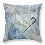 Umbrella Throw Pillow by Brett Pfister
