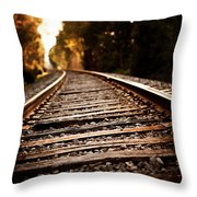 Unbounded Throw Pillow by Lisa Russo