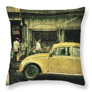 Unfinished Memory Throw Pillow by Andrew Paranavitana