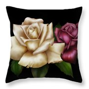 Unity Throw Pillow by Cheryl Young