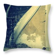 Urban Decay Throw Pillow by Georgia Fowler