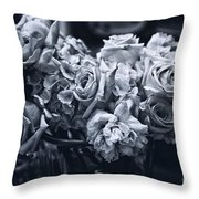 Vase Of Flowers 2 Throw Pillow by Madeline Ellis