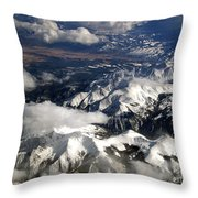 View From Above II Throw Pillow by Patricia Griffin Brett