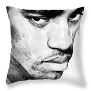 Vince Carter Throw Pillow by Tamir Barkan
