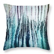 Volcanic Eruption 2 Throw Pillow by Hakon Soreide