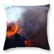 VOLUNTEER Throw Pillow by Skip Willits
