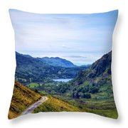 Wales Throw Pillow by Svetlana Sewell