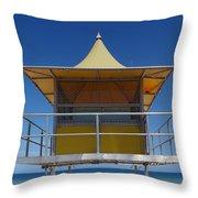 Watchtower Throw Pillow by Melanie Viola