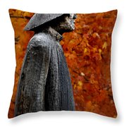 Waterman Throw Pillow by Skip Willits