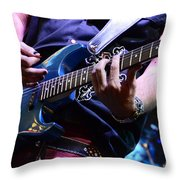 We Will Rock You Throw Pillow by Bob Christopher