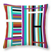 Weak Throw Pillow by Ely Arsha