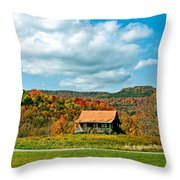 West Virginia Homestead Throw Pillow by Steve Harrington
