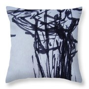 We've Got To Stop Meeting Like This Throw Pillow by Diane montana Jansson