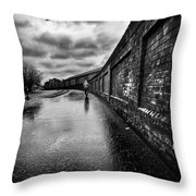 What Do I Know Throw Pillow by John Farnan