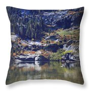 What Lies Before Me Throw Pillow by Laurie Search