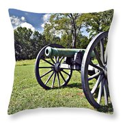 Wheels Of Production - War Throw Pillow by Charles Dobbs