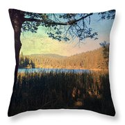 When I'm In Your Arms Throw Pillow by Laurie Search