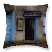 White Hall Tavern Throw Pillow by Ron Jones