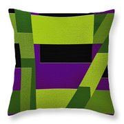 Wild Throw Pillow by Ely Arsha