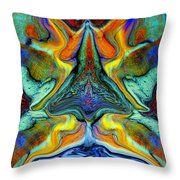 Wild Thing Throw Pillow by Stephen Anderson