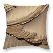 Wind Creation Throw Pillow by Kelley King