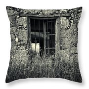 Window Of Memories Throw Pillow by Stelios Kleanthous