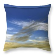 Windswept 2 Throw Pillow by Kaye Menner