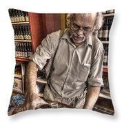 Wine I Know Was Made To Drink Throw Pillow by William Fields