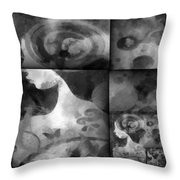 Wondering 2 Throw Pillow by Angelina Vick