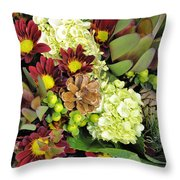 Woodland Glory Throw Pillow by Jan Amiss Photography