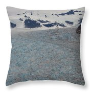 World Of Ice Throw Pillow by Mike Reid