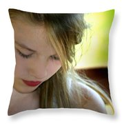 Youth Throw Pillow by Kelly Hazel