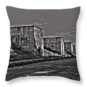 Zeppelin Field - Nuremberg Throw Pillow by Juergen Weiss