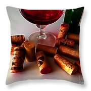 Zin Throw Pillow by Cheryl Young
