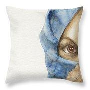 Esther Throw Pillow by Annemeet Hasidi- van der Leij