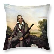 John James Audubon Throw Pillow by Granger