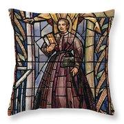 Sally Tompkins (1833-1916) Throw Pillow by Granger