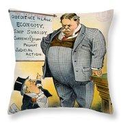 William Howard Taft Throw Pillow by Granger