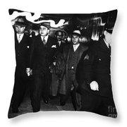 Alphonse Capone (1899-1947) Throw Pillow by Granger