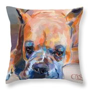 Andre Throw Pillow by Kimberly Santini