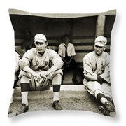 Boston Red Sox, C1916 Throw Pillow by Granger
