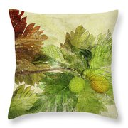 Breadfruit Throw Pillow by Kaypee Soh - Printscapes