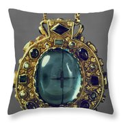 Charlemagne (742-814) Throw Pillow by Granger