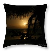 Dancing in the Wind Throw Pillow by Sharon Mau